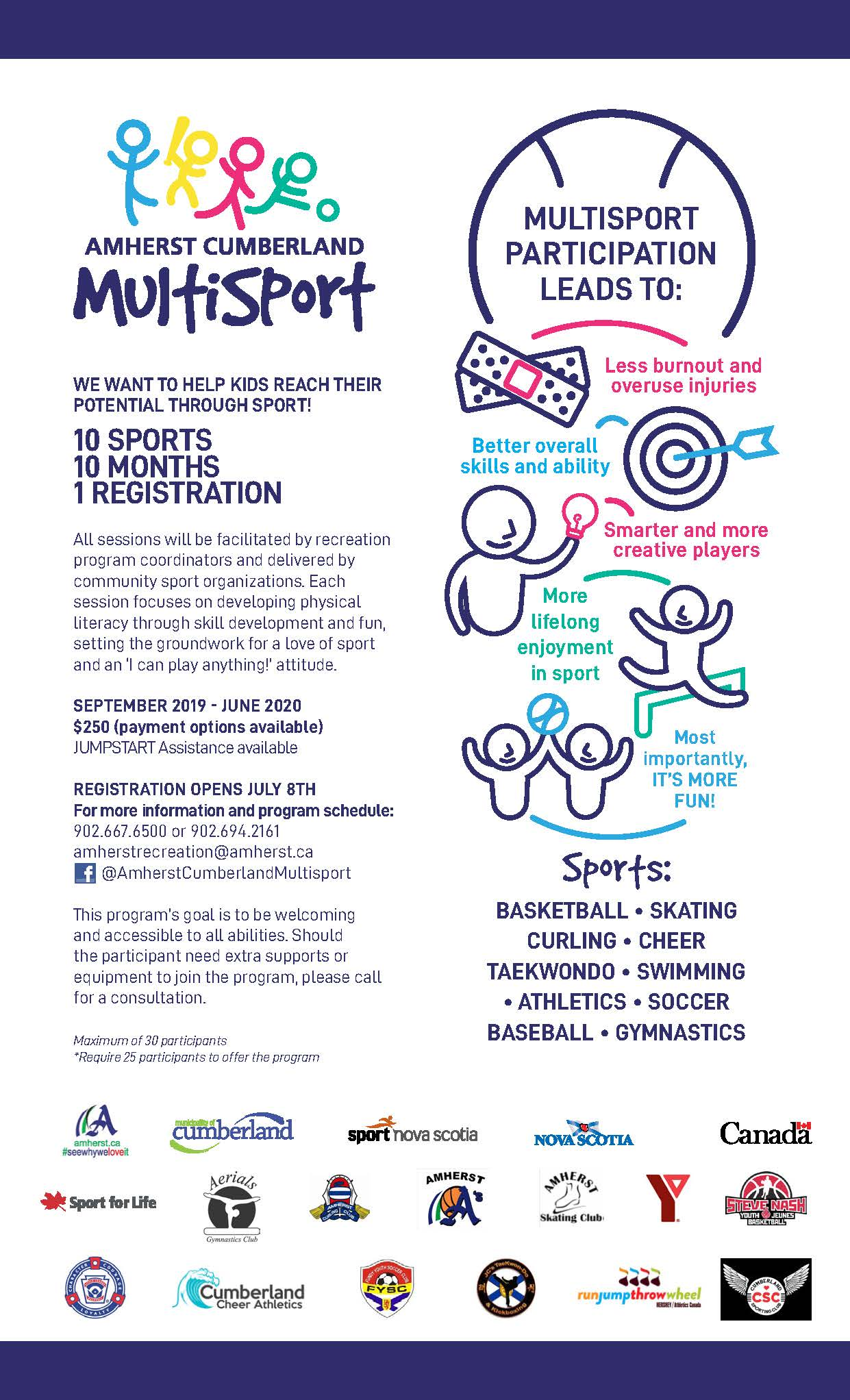 Multisport Promotion Poster 2019 20